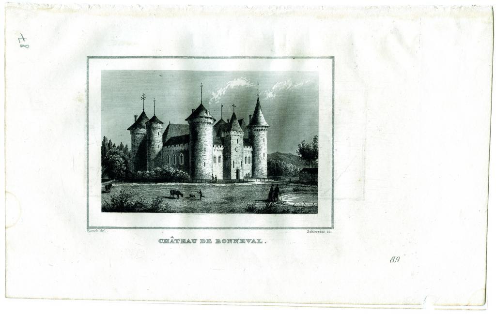 chateau bonneval chevaux