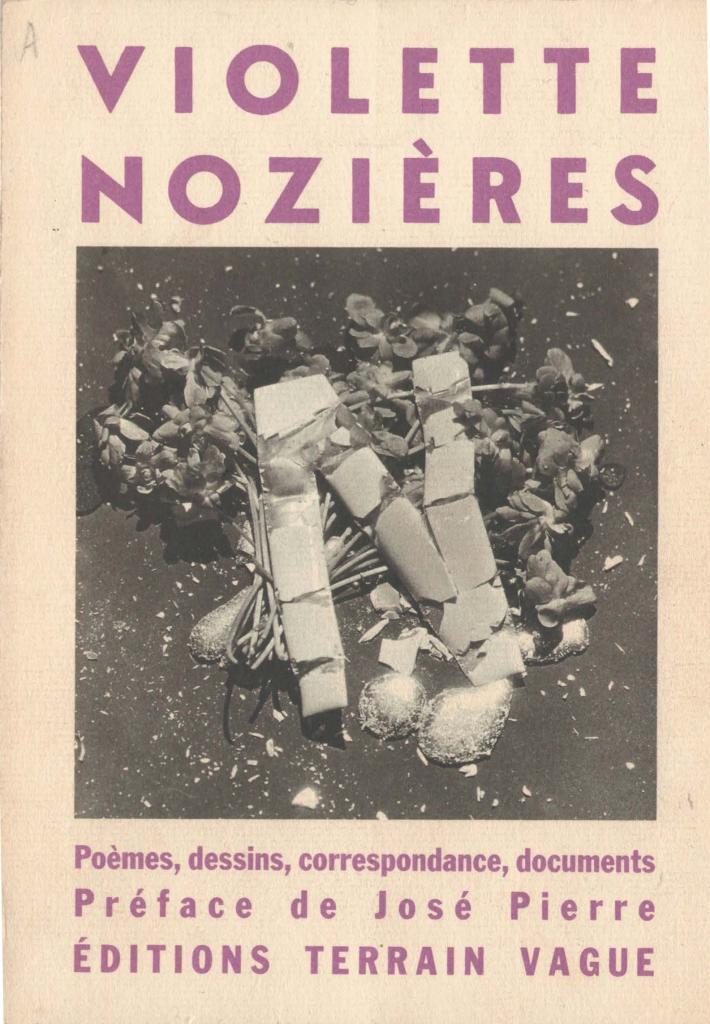 Couverture du livre Violette Nozières