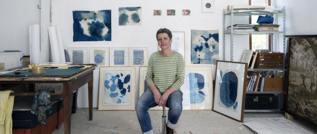 Artiste Eva Aurich atelier