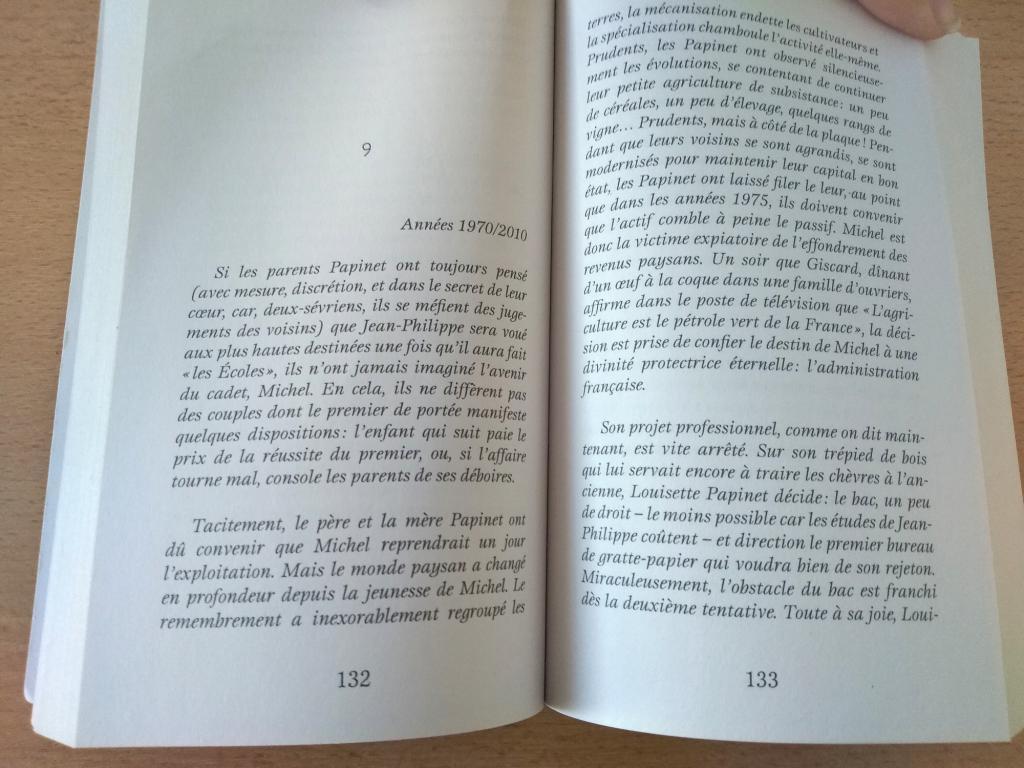 pages livre sur les frères Papinet