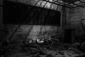 Photographie d'Amandine Maillot tirée de l'exposition Kaolin
