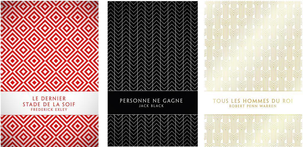 couvertures livres motifs