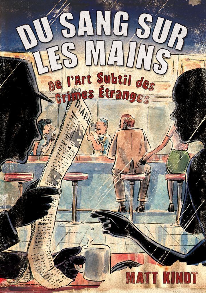 couverture dessins silhouettes café