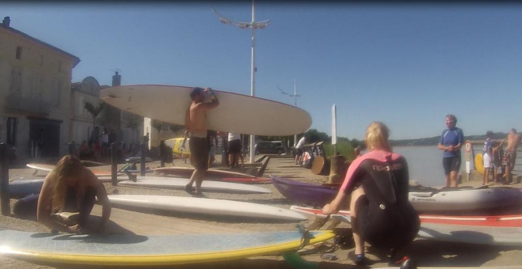 préparation surfeurs