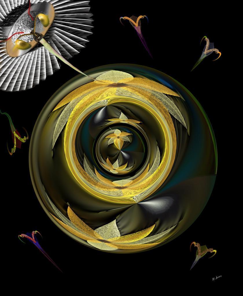 sphère insecte volant