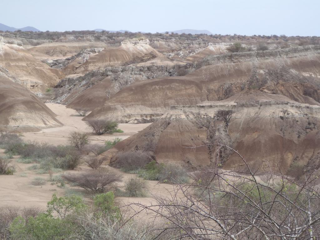 Sédiments paysage