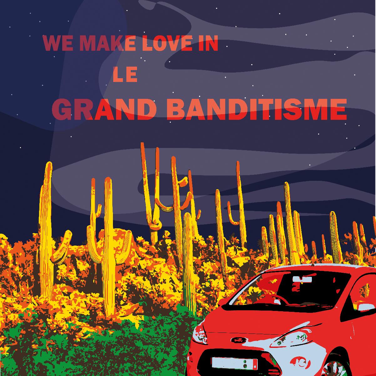 Grand Banditisme Carte postale 2018